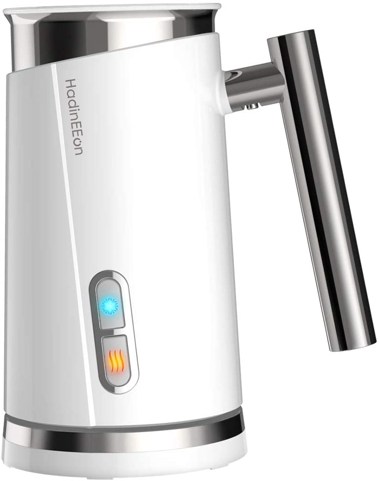 Electric Frother & Steamer for Making Latte