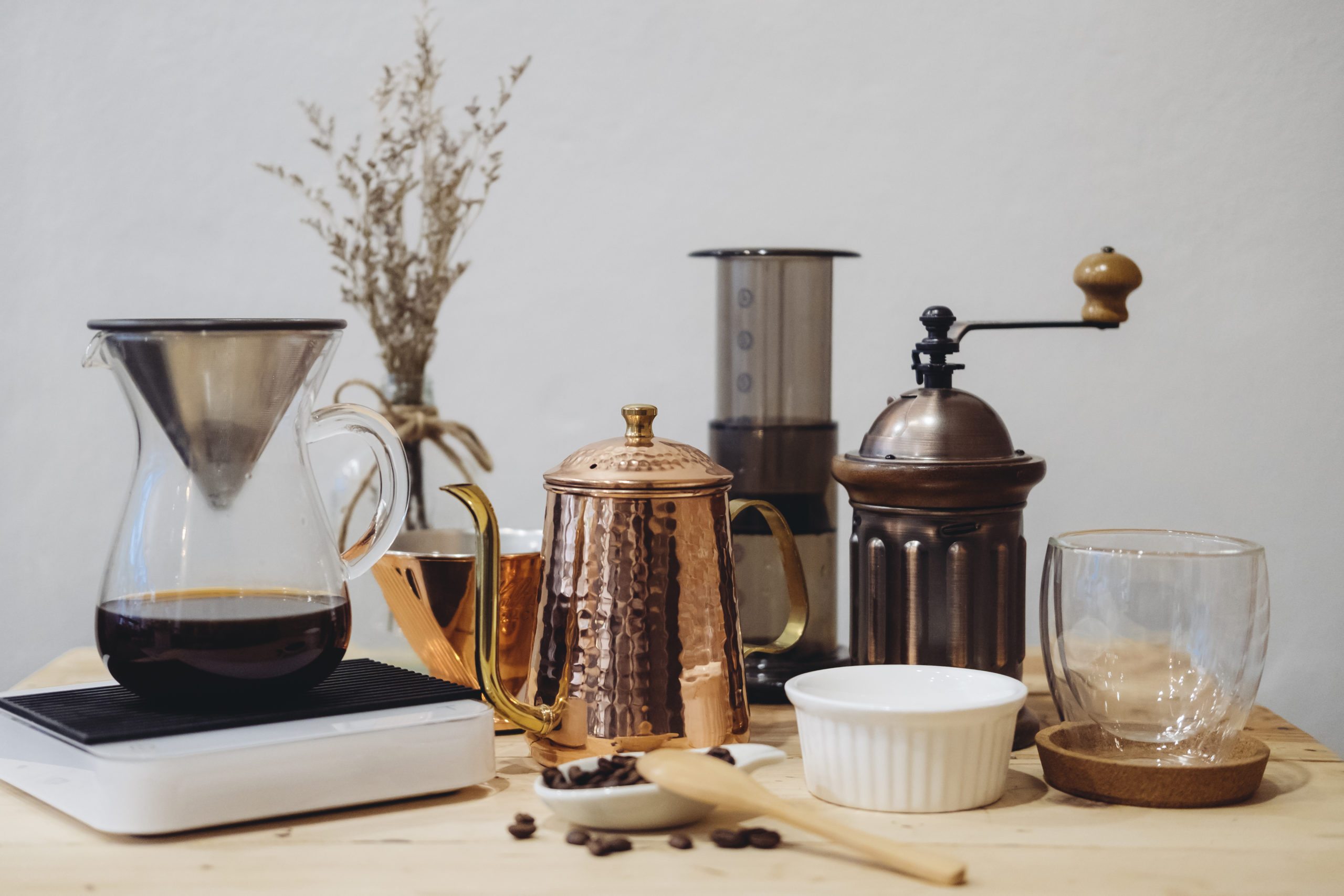 equipment for coffee maker
