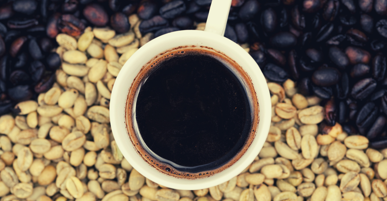 Ethiopian Coffee with Beans