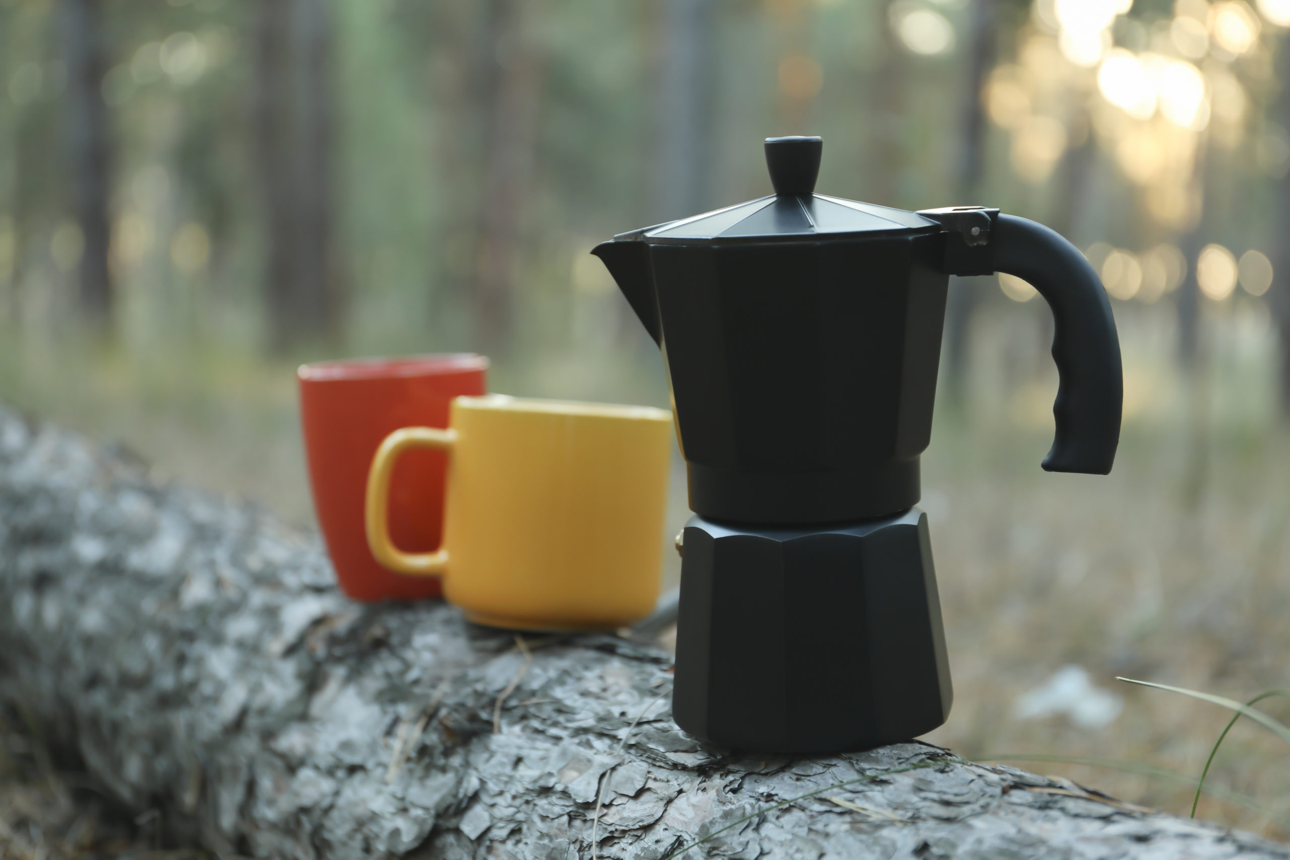 how to use percolator coffee pot for camping