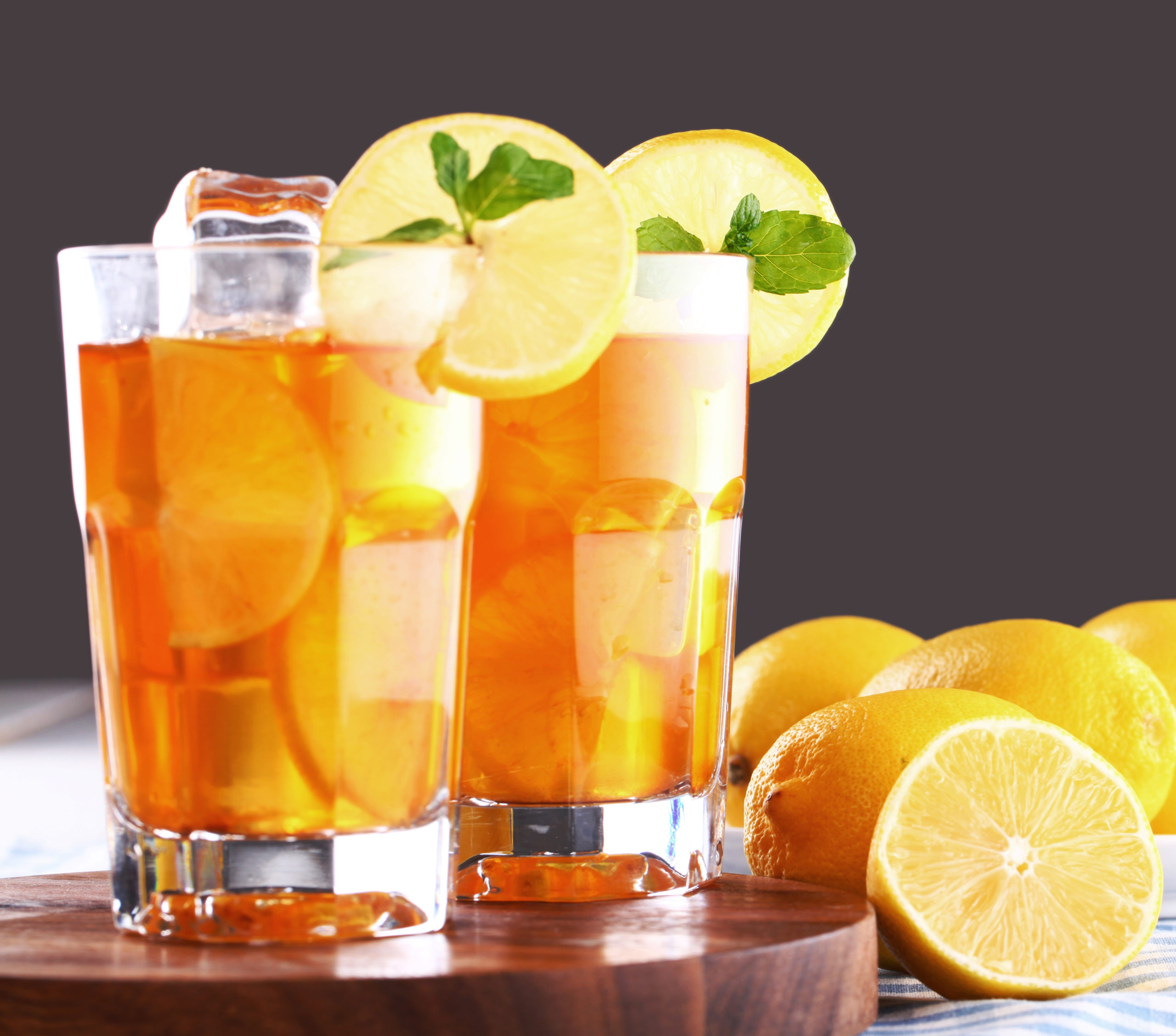 Best Homemade Flavored Iced Tea Recipes Feature Image