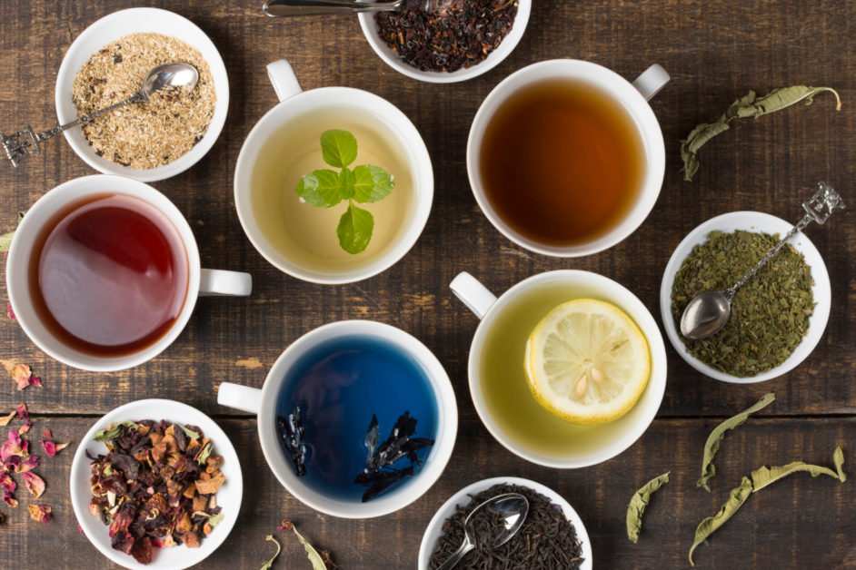what are the main types of tea